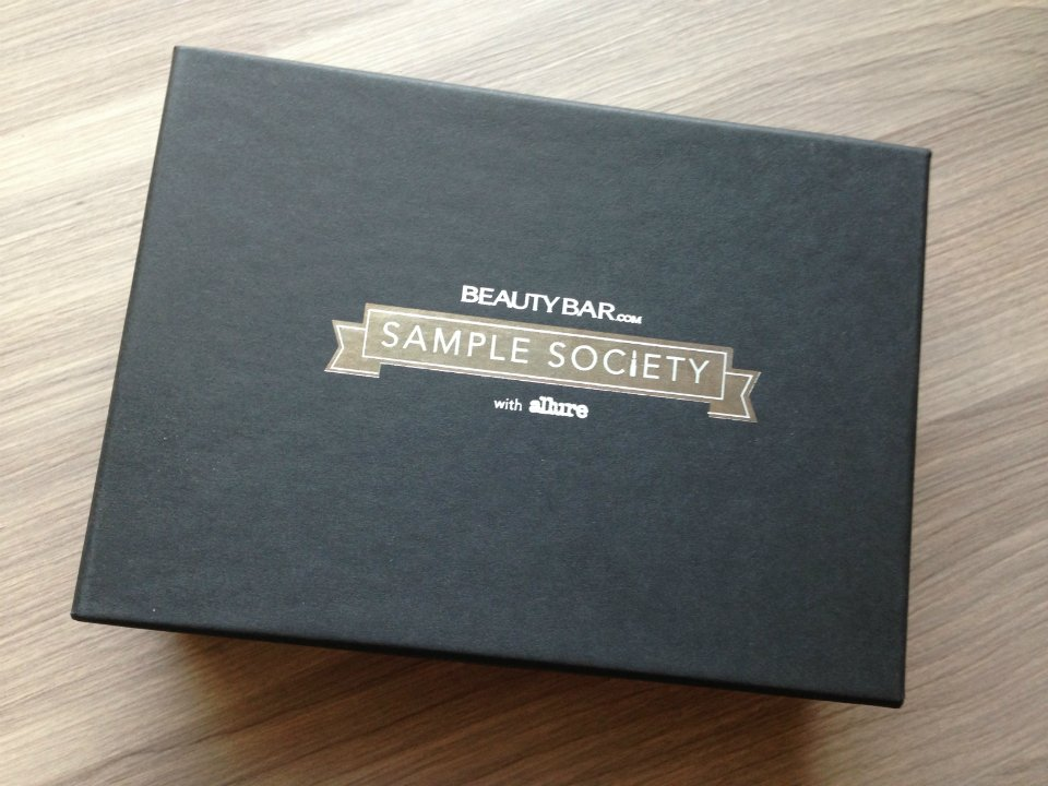 Sample Society by Beauty Bar - Beauty Subscription Box Review - January 2013