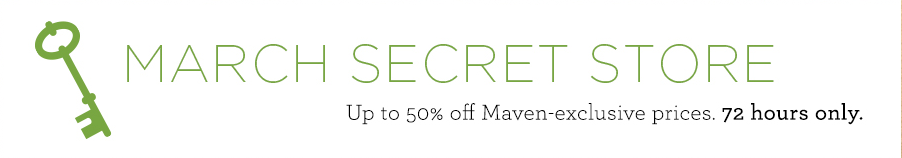 Julep Maven March Secret Store is Now Open!