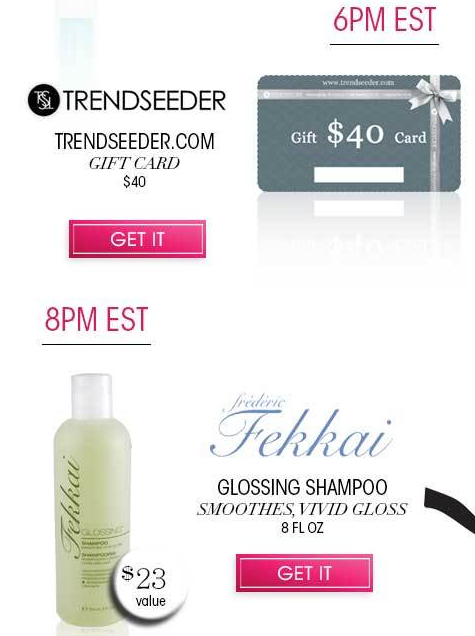 12 Hour Glossy Box Promotion! Free Full Sized Gifts with Order!
