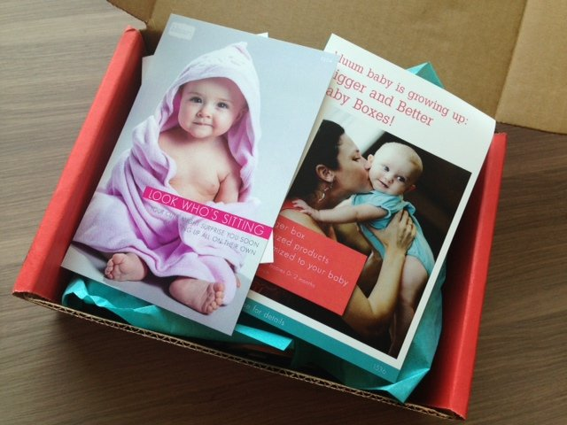 Bluum Box Review - March 2013 - Monthly Baby Subscription Boxes