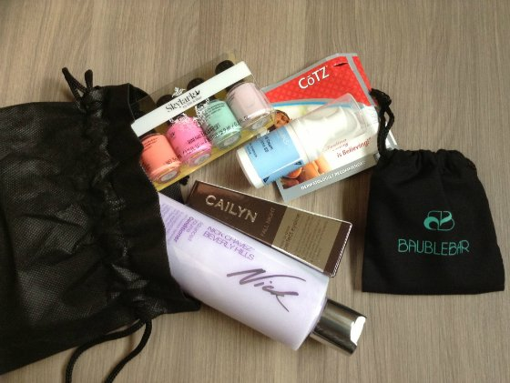 Blush Mystery Beauty Box Review - May 2013 - Makeup Subscription