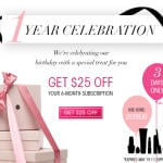 New GLOSSYBOX Coupon Code - $25 Off a 6 Month Subscription!