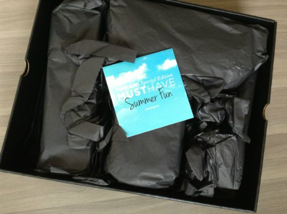 POPSUGAR Special Edition Must Have Summer Fun Box Review