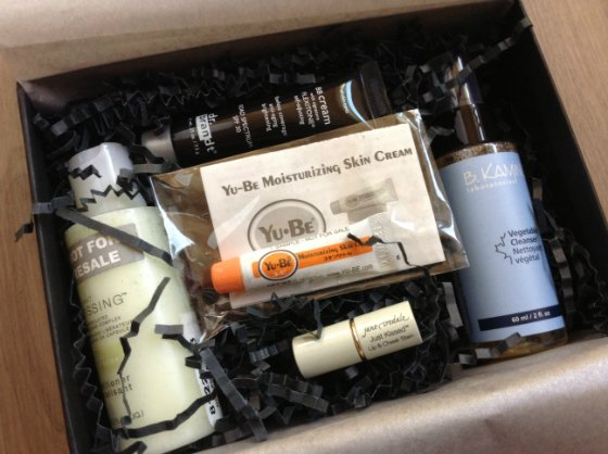 Sample Society: Beauty Bar Subscription Box Review - May 2013