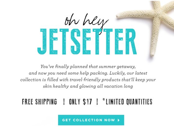 New Total Beauty Collection & Coupon Code: Summer Travel Essentials