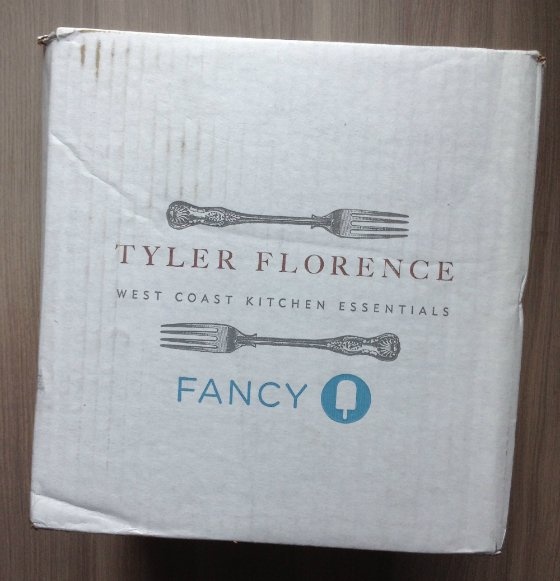 Tyler Florence Fancy Box Review - Celebrity Subscription Boxes - May 2013
