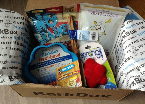 BarkBox Review & Coupon - July 2013