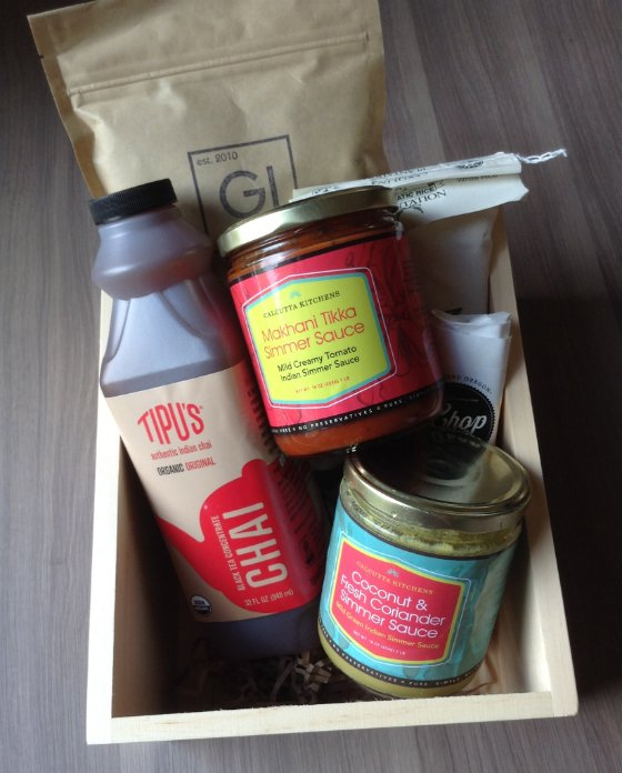 Mantry Review - Gourmet Food Subscription Box - July 2013