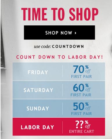Labor Day Subscription Deals - 70% Off Me Undies
