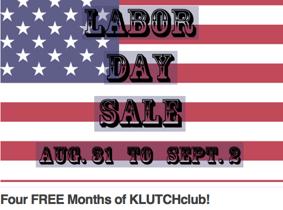 Labor Day Subscription Deals: Free KLUTCHclub Box