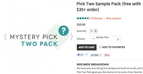 Birchbox Mystery Bonus Packs & Birchbox Points Tutorial