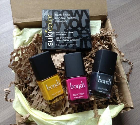 Bondi Box Review - August 2013 - Nail Polish Subscription