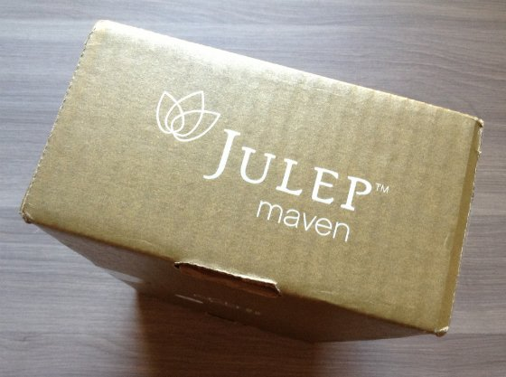 Julep Golden Mystery Box Review - August 2013