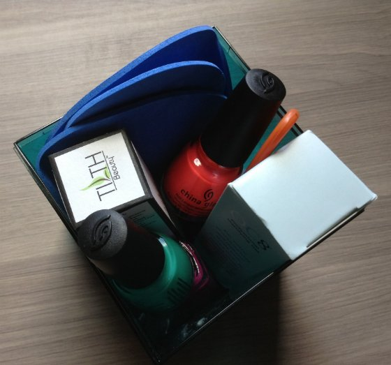 The I.N.N. Box By iNZURi Review - Nail Polish Subscription