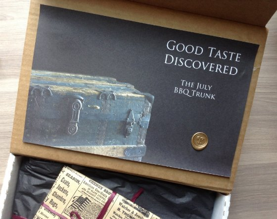Taste Trunk Review & Coupon - BBQ Subscription Box!