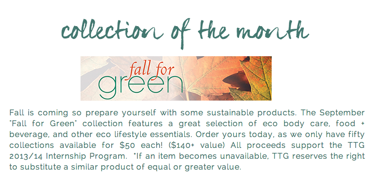 The September Conscious Collection is Now Available!