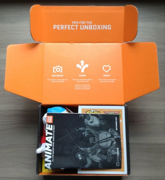 Loot Crate Review & Coupon Code - September 2013