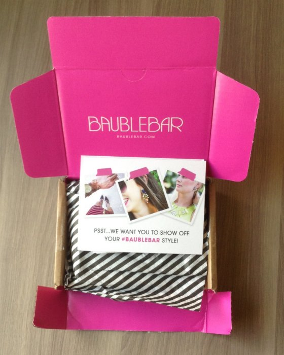 Bauble Bar Mystery Makeover Box Review – October 2013