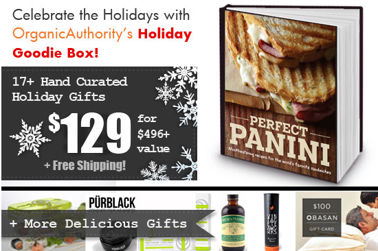 Organic Authority's 2013 Holiday Goodie Box is Available Now!