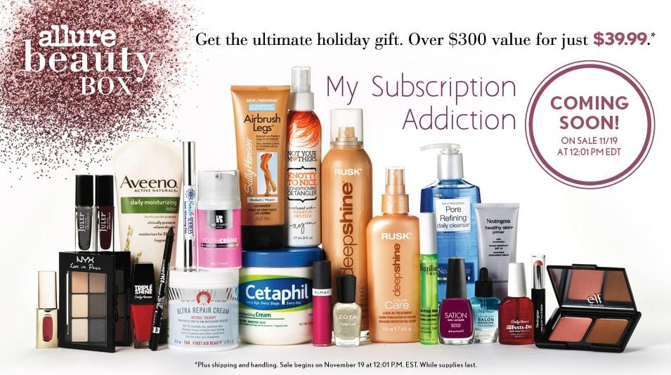 Allure Winter Beauty Box Details - On Sale 11/19!