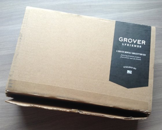Grover & Friends Men's Clothing Subscription Review