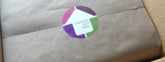 Mama's Got Mail Subscription Box Review – November 2013