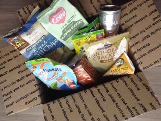 Vegan Cuts Snack Box Subscription Review - October