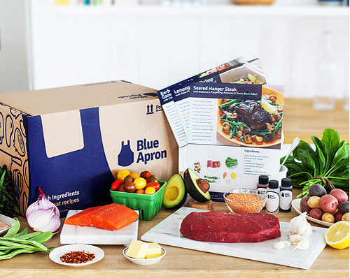 Blue Apron Meal Subscription Box - 50% Off at RueLaLa!