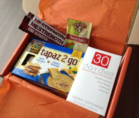 Bulu Box Review & 50% Off Coupon - Dec 2013 Samples