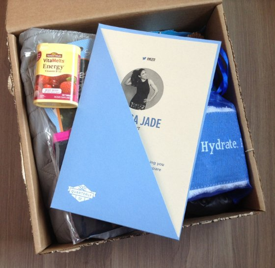 MizzFit Quarterly Subscription Box Review #MIZ01