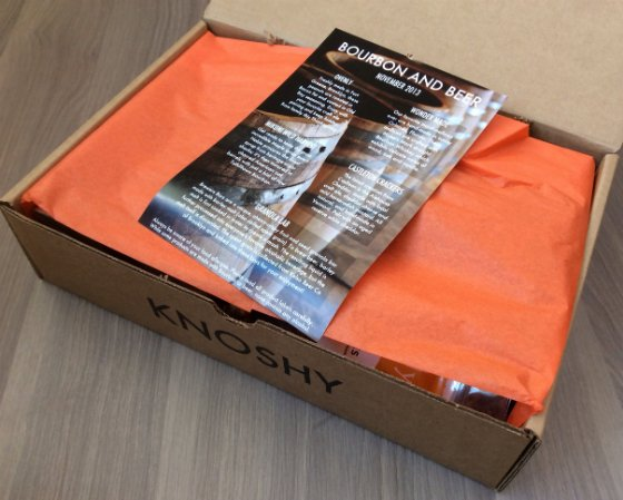 Knoshy Review - Nov & December Gourmet Subscription Boxes Nov Review