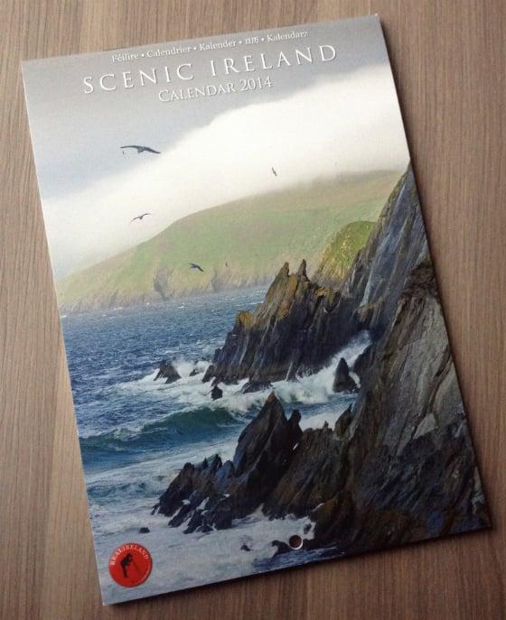 My Ireland Box Subscription Review - Dec 2013 Calendar