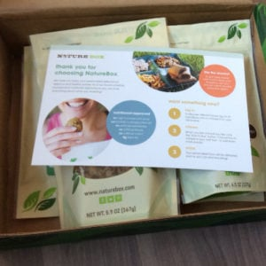 Nature Box Review & 50% Off Discount Code!