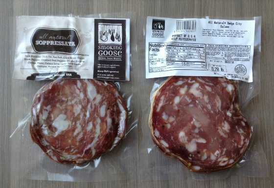 Carnivore Club Subscription Box Review Salami