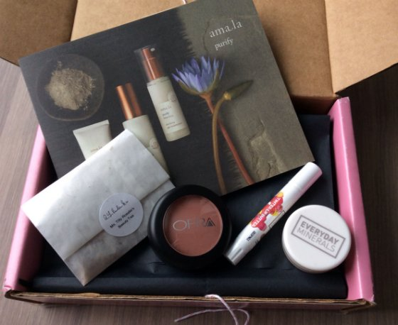 Petit Vour Vegan Beauty Subscription Box Review - Feb 2014 Items
