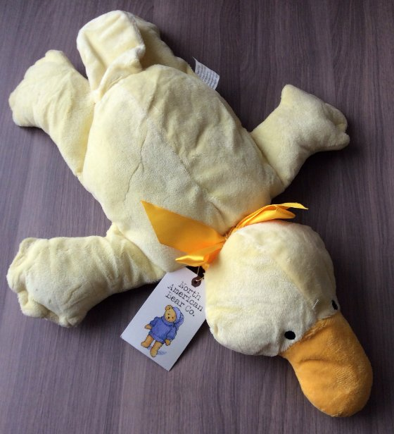 Stork Stack Subscription Box Review - Feb 2014 Stuffed Animal