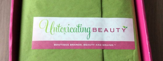 Untoxicating Beauty Subscription Box Review – Feb 2014