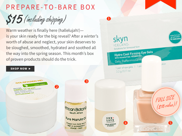 Beauty Sage Editors' Box Available Now!