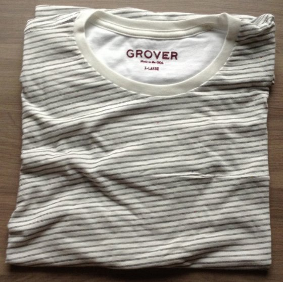Grover & Friends Men's Clothing Subscription Review – March 2014 Tee