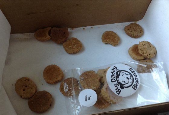 Happy Dog Box Subscription Box Review - March 2014 Biscuits