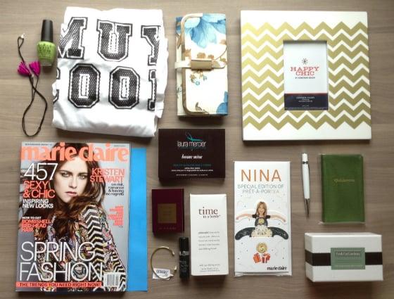 Nina Garcia Quarterly Subscription Box Review #NGQ02 Items