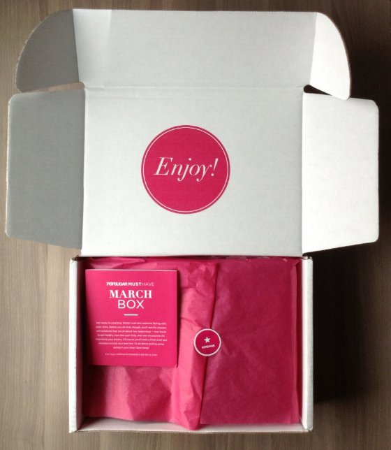 POPSUGAR Must Have Box Review - March 2014 First Look
