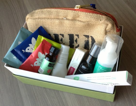 Birchbox Limited Edition Free For All Box Review Items