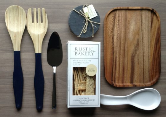 Tyler Florence Fancy Box Review - March 2014 Items