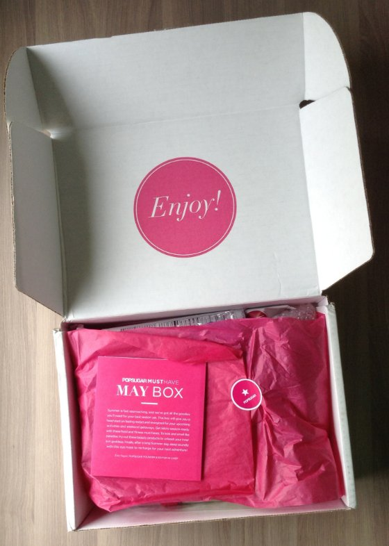 POPSUGAR Must Have Subscription Box Review - May