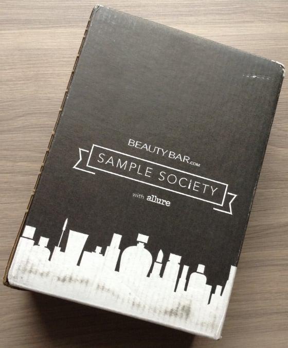 Sample Society Beauty Subscription Box Review - May