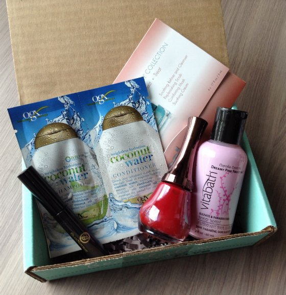 Beauty Box 5 Review & Free Box Coupon - June 2014 Items