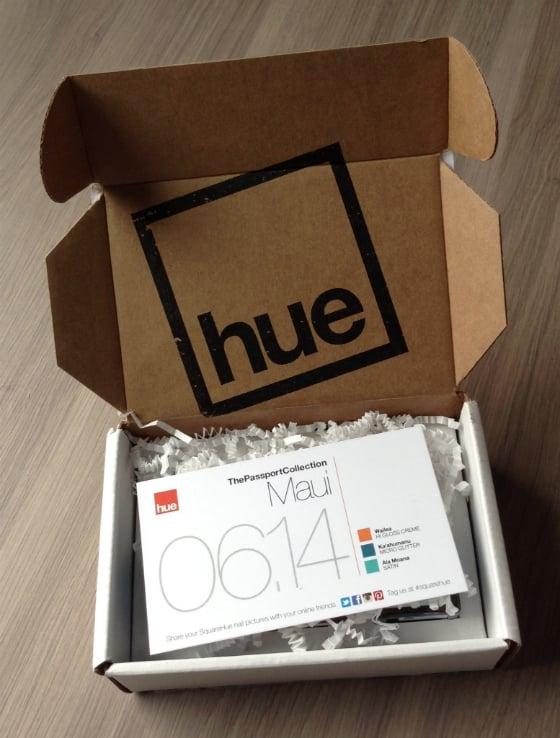 Square Hue Nail Polish Subscription Box Review - June