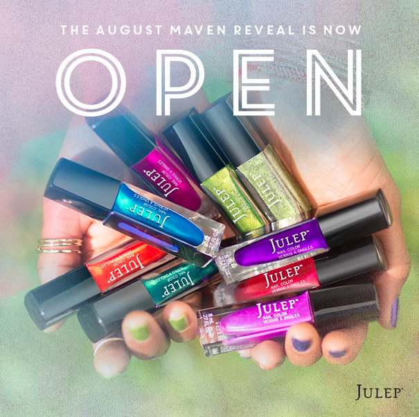 Julep Maven Selection Time for August