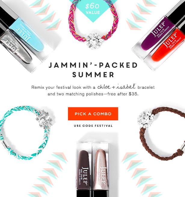 Free Julep Bracelet And Polish Set!